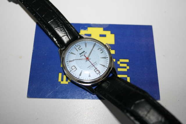 HMT: Pilot Automatic Powder Blue Face Watch